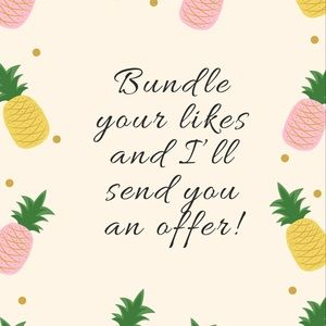🌸BUNDLE ⭐️TWO or MORE🌟FOR AN OFFER!